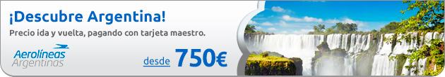 Descubre Argentina desde 750€