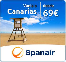 Vuela a Canarias desde 69€