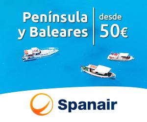 Península y Baleares desde 50€